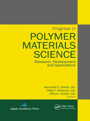 cover image of Progress in Polymer Materials Science