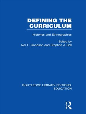 cover image of Defining the Curriculum