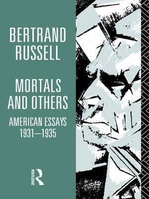 cover image of Mortals and Others, Volume I