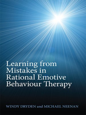 cover image of Learning from Mistakes in Rational Emotive Behaviour Therapy