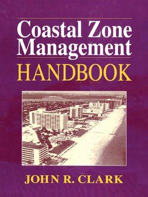 cover image of Coastal Zone Management Handbook