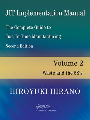 cover image of JIT Implementation Manual — the Complete Guide to Just-In-Time Manufacturing