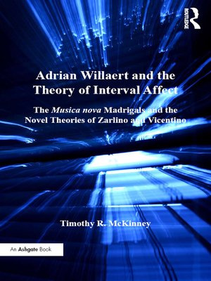 cover image of Adrian Willaert and the Theory of Interval Affect