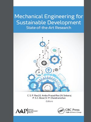 cover image of Mechanical Engineering for Sustainable Development