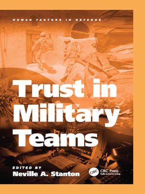 cover image of Trust in Military Teams
