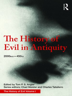 cover image of The History of Evil in Antiquity