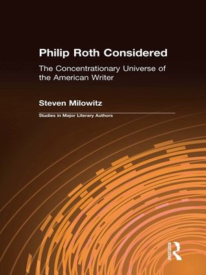 cover image of Philip Roth Considered