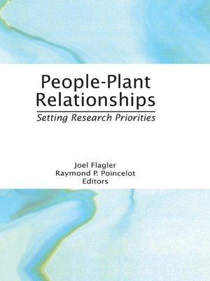 cover image of People-Plant Relationships