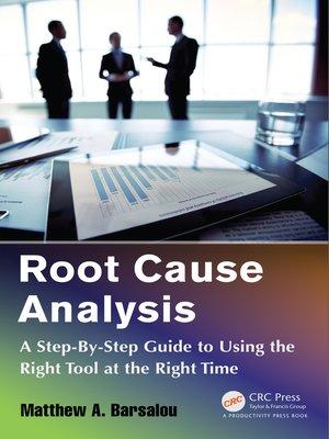 cover image of Root Cause Analysis