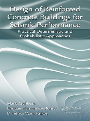 cover image of Design of Reinforced Concrete Buildings for Seismic Performance