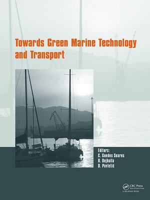cover image of Towards Green Marine Technology and Transport