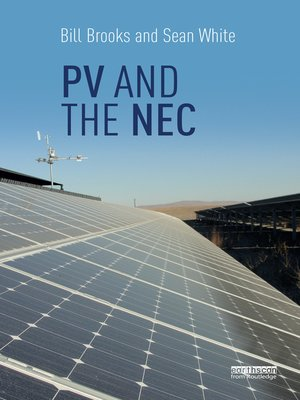 cover image of PV and the NEC