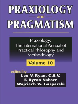 cover image of Praxiology and Pragmatism