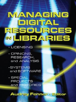 cover image of Managing Digital Resources in Libraries