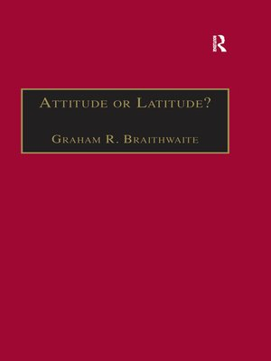 cover image of Attitude or Latitude?