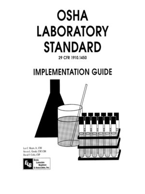 cover image of Osha Laboratory Standard--Implementation Guide