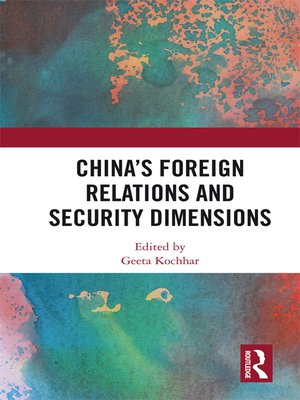 cover image of China's Foreign Relations and Security Dimensions