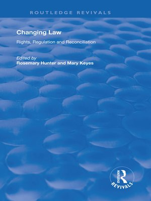 cover image of Changing Law
