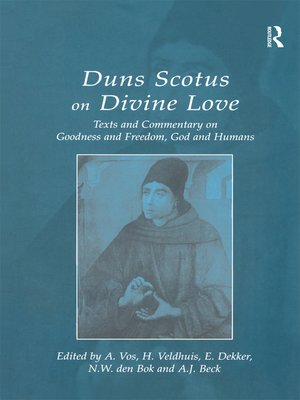 cover image of Duns Scotus on Divine Love