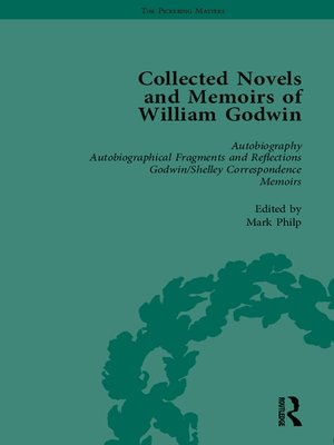cover image of The Collected Novels and Memoirs of William Godwin Vol 1