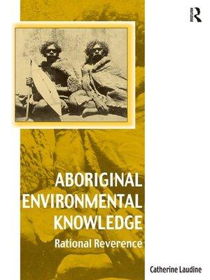 cover image of Aboriginal Environmental Knowledge