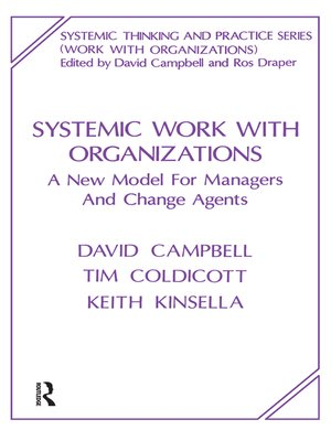 cover image of Systemic Work with Organizations