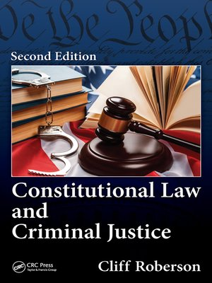 cover image of Constitutional Law and Criminal Justice