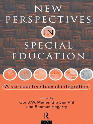 cover image of New Perspectives in Special Education