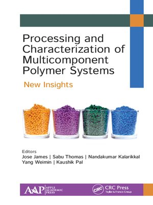 cover image of Processing and Characterization of Multicomponent Polymer Systems