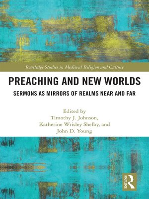 cover image of Preaching and New Worlds