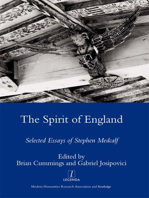 cover image of The Spirit of England