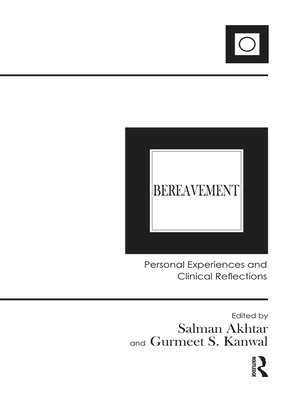 cover image of Bereavement