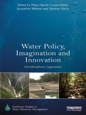 cover image of Water Policy, Imagination and Innovation