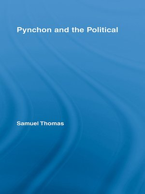 cover image of Pynchon and the Political