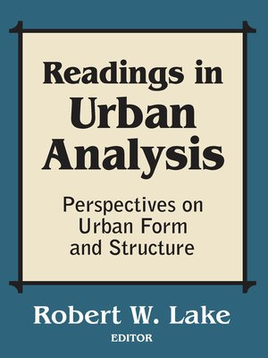cover image of Readings in Urban Analysis