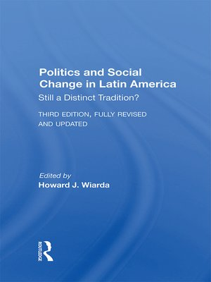 cover image of Politics and Social Change In Latin America