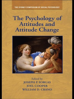 cover image of The Psychology of Attitudes and Attitude Change