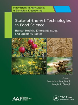 cover image of State-of-the-Art Technologies in Food Science