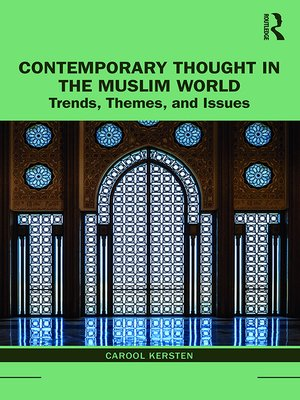 cover image of Contemporary Thought in the Muslim World