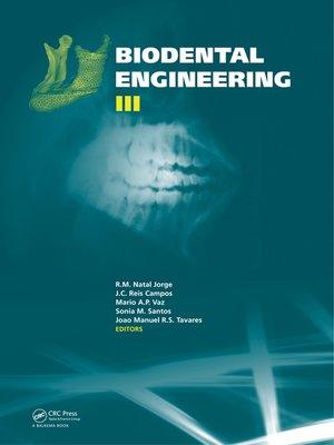 cover image of Biodental Engineering III