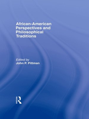 cover image of African-American Perspectives and Philosophical Traditions