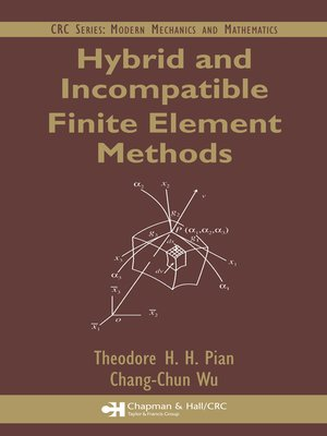 cover image of Hybrid and Incompatible Finite Element Methods