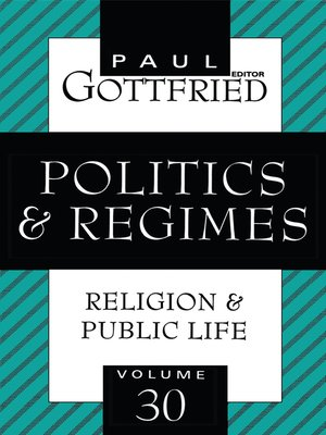 cover image of Politics and Regimes