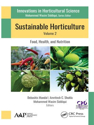cover image of Sustainable Horticulture, Volume 2