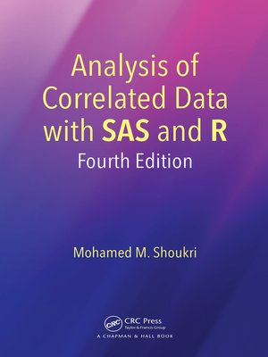cover image of Analysis of Correlated Data with SAS and R
