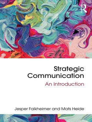 cover image of Strategic Communication