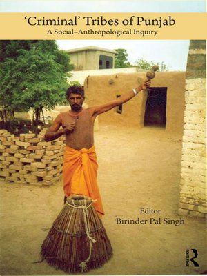 cover image of 'Criminal' Tribes of Punjab