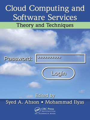 cover image of Cloud Computing and Software Services