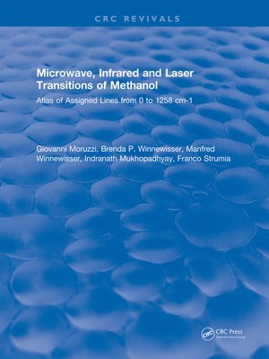 cover image of Microwave, Infrared, and Laser Transitions of Methanol Atlas of Assigned Lines from 0 to 1258 cm-1