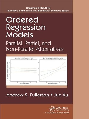cover image of Ordered Regression Models